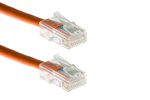 CAT5e Ethernet Patch Cable, Non-Booted, 1 Foot, Orange