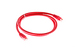 Cat6 Crossover Ethernet Patch Cable, Snagless, 3', Red