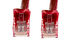 Cat6 Crossover Ethernet Patch Cable, Snagless, 5', Red