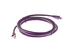 CAT6A Ethernet Patch Cable, Snagless, 7', Purple