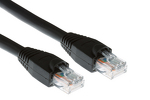CAT6 Direct Burial Ethernet Patch Cable, Snagless, 200', Black