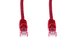 CAT6 Ethernet Patch Cable, Snagless, 12', Red