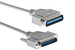 DB25 to Centronics 36 Printer Cable, 10ft