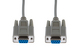 Cables Unlimited DB9 Female to Female Serial Cable