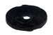 "Velcro Qwik Tie Roll, 3/4"" x 8"", Qty 100, Black"
