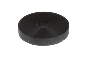 """Velcro Qwik Tie Uncut Tape Roll, 1"""" x 25 Yards, Black"""