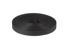 """Velcro Qwik Tie Uncut Tape Roll, 3/4"""" x 25 Yards, Black"""