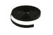 """Velcro Qwik Tie Uncut Tape Roll, 5/8"""" x 25 Yards, Black"""