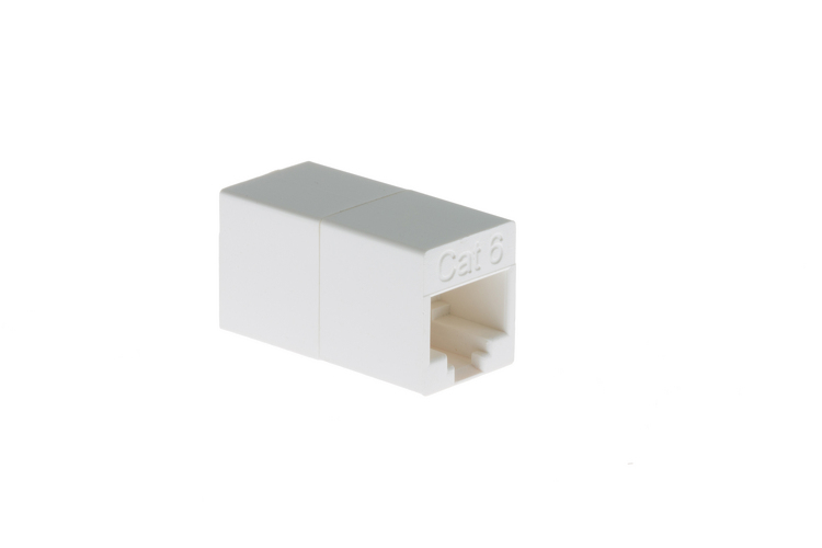 RJ45 CAT6 Inline Coupler for Connecting Ethernet Cables