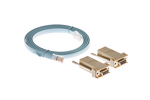 Cisco Console Cable 6ft, RJ45 to RJ45 with 2 DB9 to RJ45 Adapter