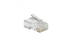 RJ45 Modular Plugs/Connectors For Stranded Wire  - Qty 10