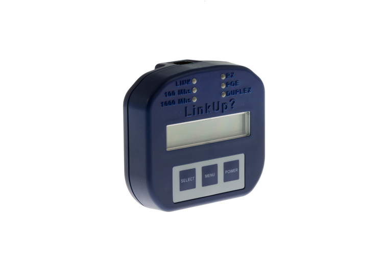 LinkUp Ethernet Connection Tester With LCD Display