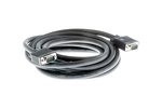 SVGA Male to Male Cable, Black, 15'