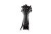 "11"" Nylon Cable Ties, Black (Qty 100)"