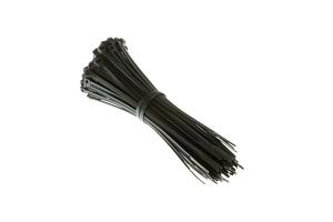 "6"" Nylon Cable Ties, Black (Qty 100)"