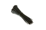 "6"" Nylon Cable Ties, Black (Qty 100)"