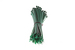 "8"" Nylon Cable Ties, Green (Qty 100)"