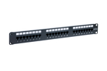 24 Port Cat5E Enhanced Rack Mount Patch Panel