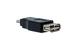 USB A Female to USB B Mini-Male Gender Changer