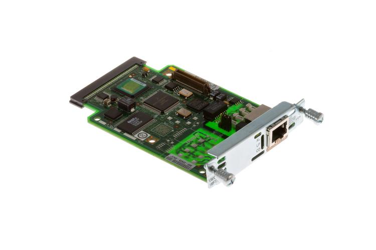 Cisco 1-Port T1/E1 Multiflex Interface Card, VWIC2-1MFT-T1/E1