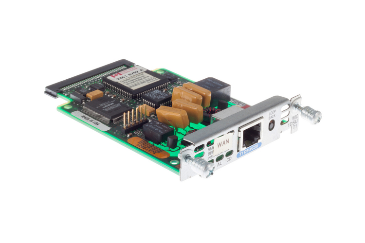 Cisco 1-Port T1 CSU/DSU Card, WIC-1DSU-T1, NEW