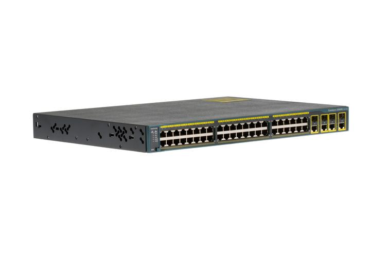 Cisco 2960 Series 48 Port Gigabit Switch, WS-C2960G-48TC-L