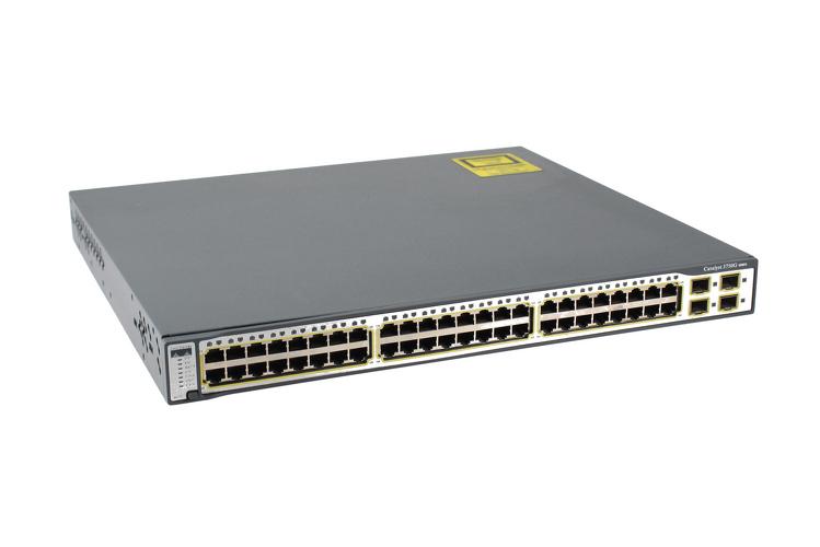 Cisco 3750G Series 48 Port Gigabit Switch, WS-C3750G-48TS-E