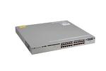Cisco 3850 Series PoE+ 24 Port Switch, IP Base, WS-C3850-24P-S