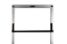 "19"" Rack Mount Shelf, CPU Shelf, Black, 2 Piece Shelf"