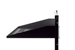 "19"" Rack Mount Shelf, Cantilever, Vented, Black"