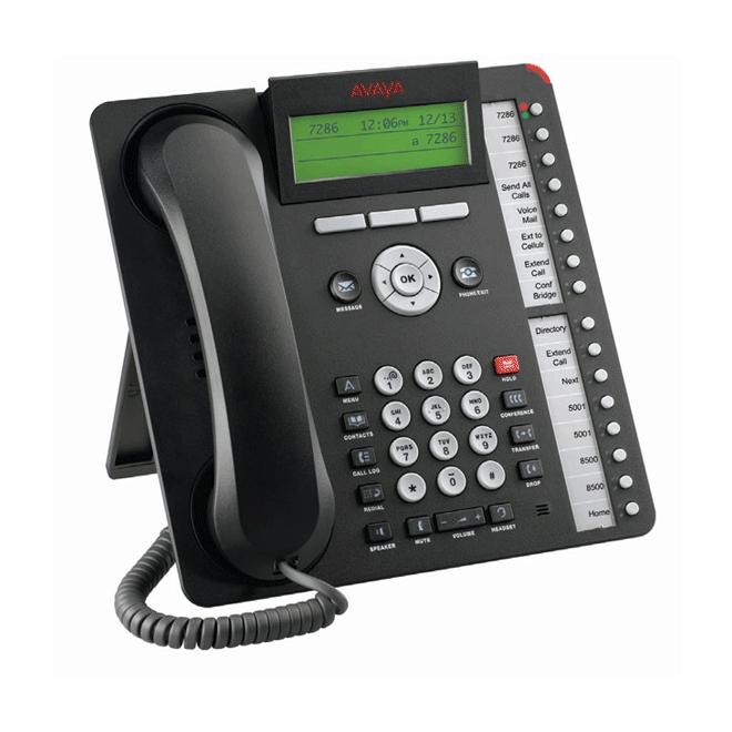 Avaya 1616-I Sixteen Line IP Phone, Charcoal, NEW