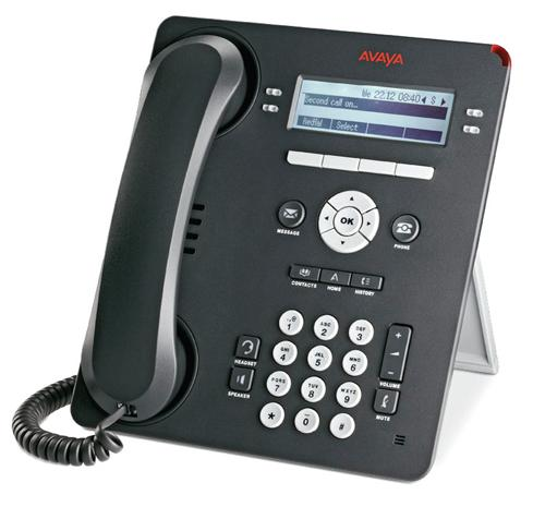 Avaya 9504 Four Line Digital Phone, Charcoal, NEW