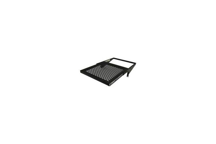 "Great Lakes 19"" 3RU Sliding Rack Mount Shelf, 17.5"" Deep"