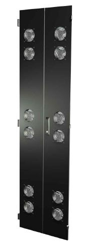 "Great Lakes Split Fan Door Set for 78""H x 29""W Enclosure"