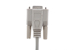 DB9 Female to DB25 Male Serial Cable, 6', Beige