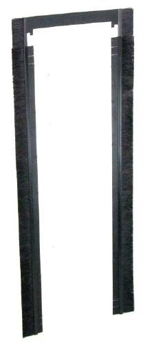 "Great Lakes ES Brush Grommet Rails - 78 & 84""H x 30""W Enclosure"