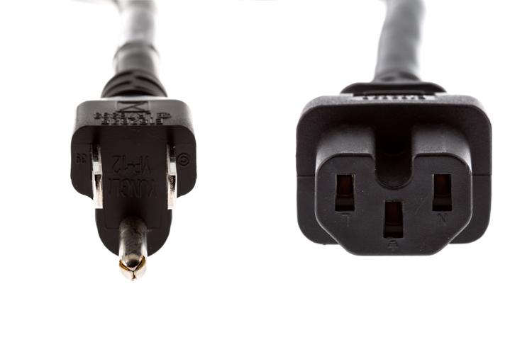CAB-TA-NA AC Power Cord - US, Cisco Compatible, Black, 8ft