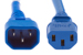 AC Power Cord, C13 to C14, 18 AWG, 2ft, Blue