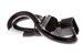 AC Power Cord, C13 to C14, 14 AWG, 2ft, Black