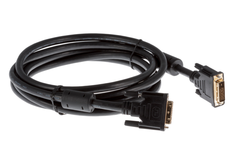 DVI-D Dual Link Male to Male Cable, 3 Meter
