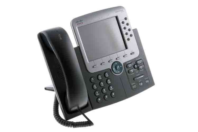 Cisco 7975G Eight Line Color Display Unified IP Phone, Clearance