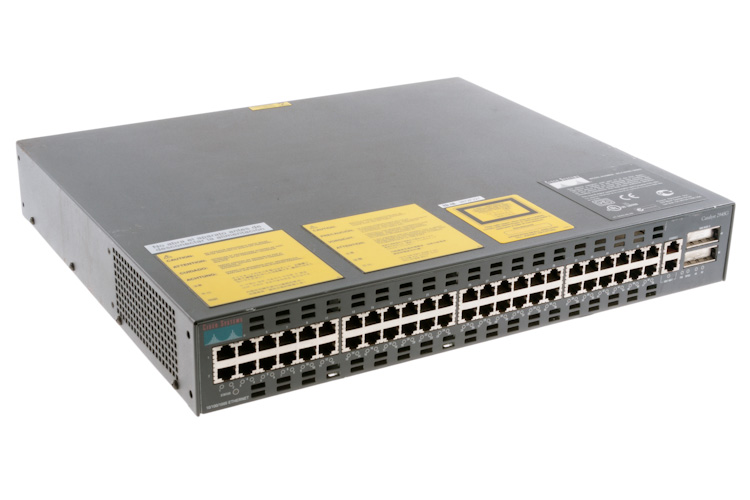 Cisco Catalyst 2948G 48 Port 10/100 Switch, WS-C2948G, Clearance