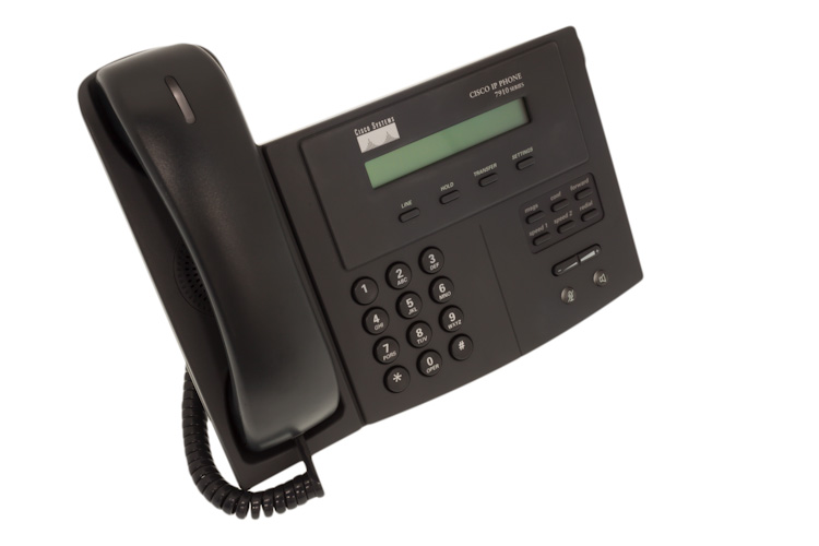 Cisco 7910 One Line Unified IP Phone, NEW