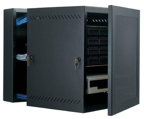 Great Lakes 12U WM Series Wall Mount Rack with Plexiglas Door