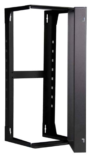 "Great Lakes 26U Swinging Wall Mount Rack, 18"" Deep"
