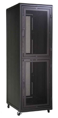 Great Lakes Two 21U Compartment Co-Lo Enclosure w/ Mesh Doors