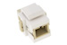 Keystone Snap In SC Fiber Module, White