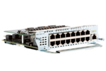 Cisco EtherSwitch Module 16 x 10/100Base-T Ports, NME-16ES-1G-P