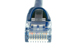CAT5e Ethernet Patch Cable, Booted, 0.5ft, Blue
