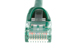 CAT5e Ethernet Patch Cable, Booted, 1ft, Green